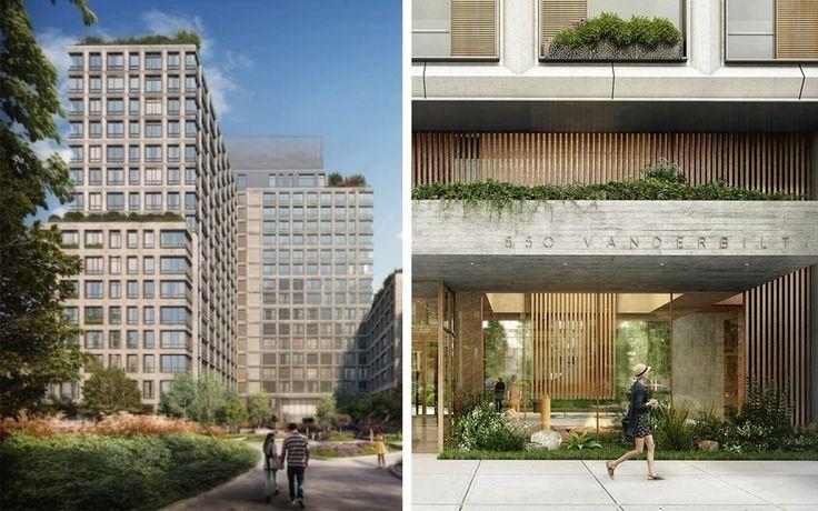 550 Vanderbilt Avenue, a new condominium in Pacific Park.