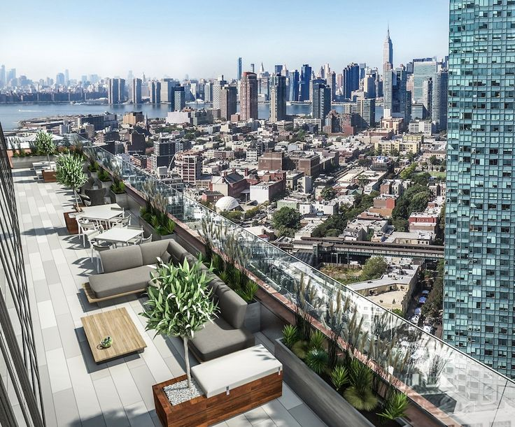View from The Forge in Long Island City via renttheforge.com