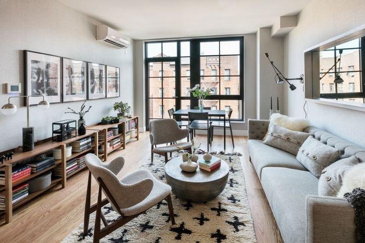 Model living room (Photos via MNS)