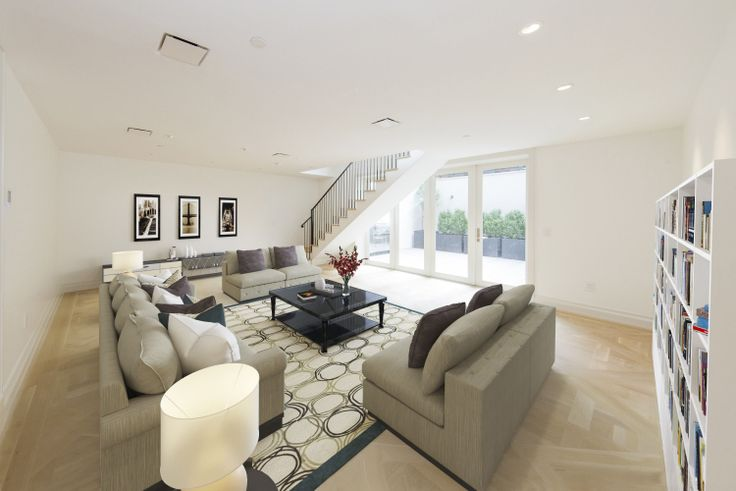 Inside the newly constructed boutique rental, 222 East 81st Street. (Image via Icon Realty Management)