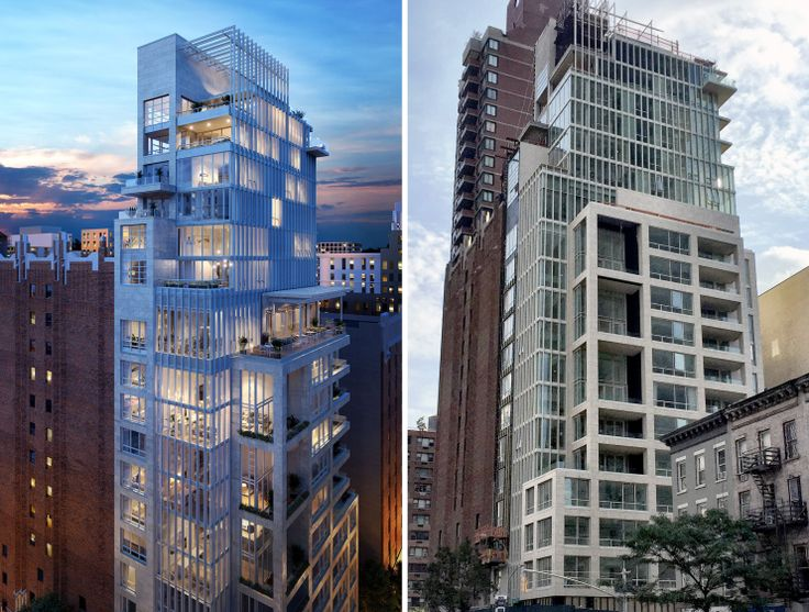 Exterior rendering of the Clare; Corcoran Group; Photo via CityRealty