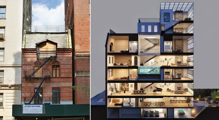 Designed by McKim, Mead & White, 471 West End was damaged by fire in 2013 and is awaiting a buyer to reimagine the landmarked townhouse (Corcoran)