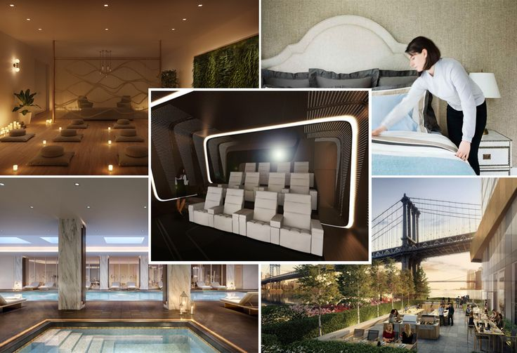 A sampling of the amenities we expect to see much more of in 2020