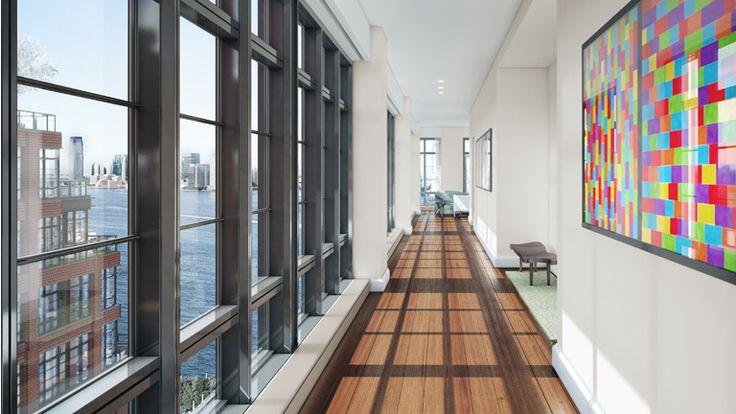 Hallway, 150 Charles Street, Condo, Manhattan, NYC