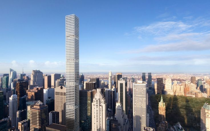 Rendering of 432 Park (Courtesy of DBOX)