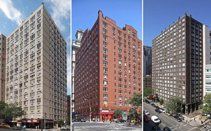 Manhattan Skyline rental buildings Habitat, Saranac and Murray Hill Manor (Images via Manhattan Skyline)