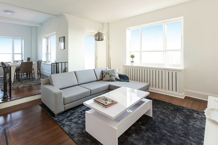Interior of 1080 Amsterdam Avenue in Morningside Heights (Image via Stonehenge NYC)