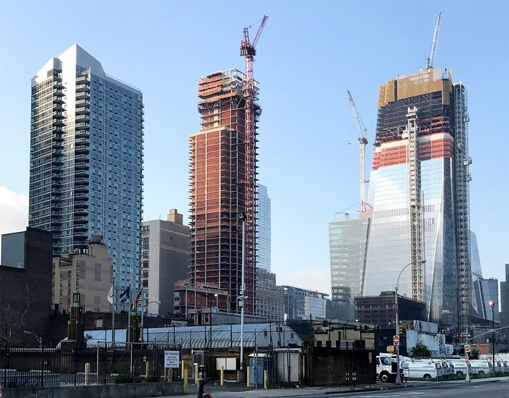 515 West 36th Street as of early August (CityRealty)