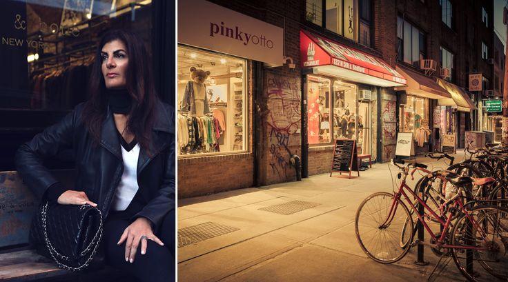 Photo of Karen Bellantoni courtesy of Newmark Knight Frank; Street scene in Williamsburg taken by CityRealty