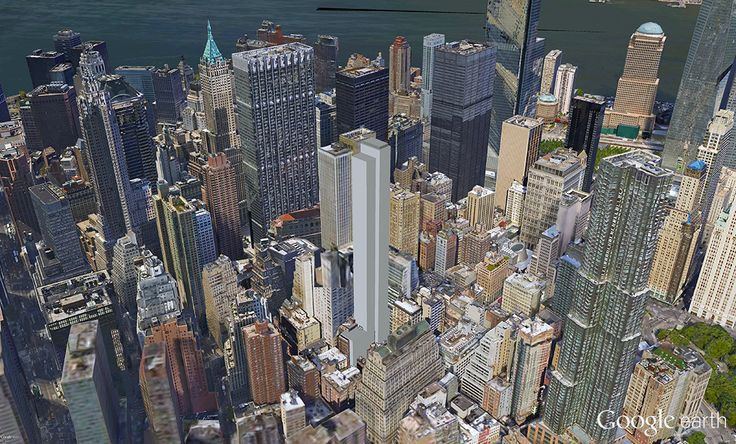 128 William Street in the Financial District (Rendering created by CityRealty via Google Earth)