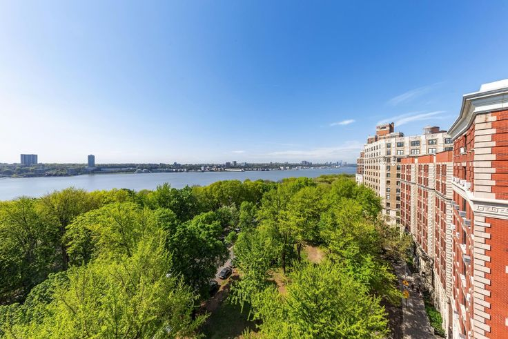 It's not easy to stay inside on spring days and with such gorgeous parks, but remember social distancing if you go out. (194 Riverside Drive via Elliman)