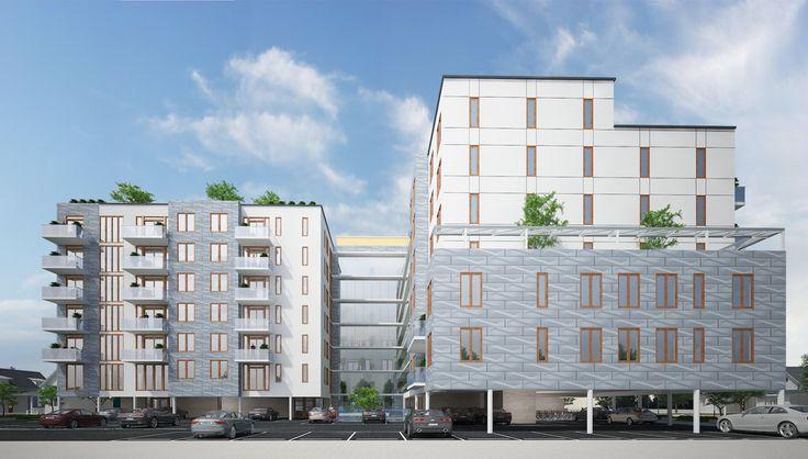 All renderings of 2442 Ocean Avenue via Eran A. Birnbaum Architect