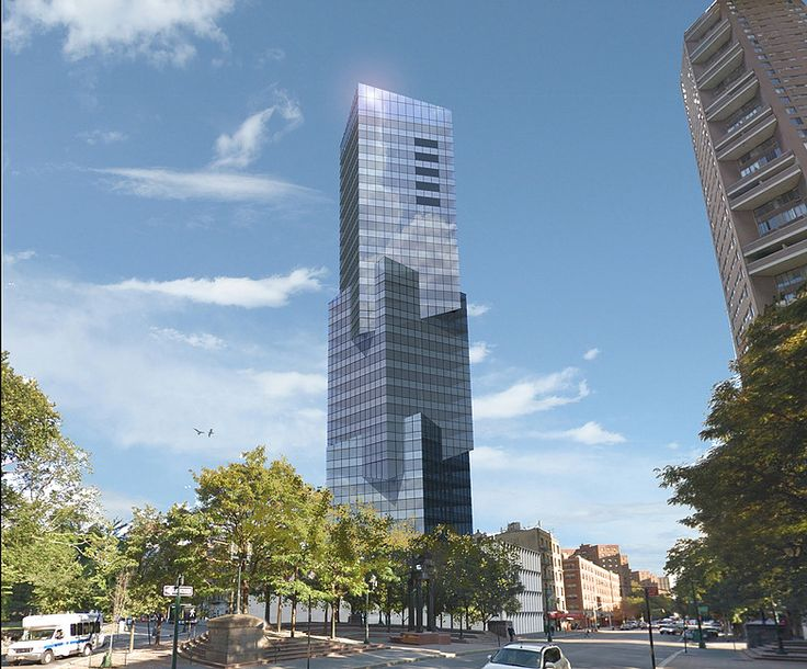 Rendering of tower at 1 Central Park North; Image credit MV Architecture