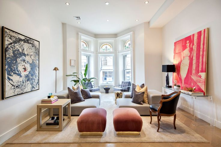 Newly-listed pre-war condo at 131 West 122nd Street, #1A  (BHS)