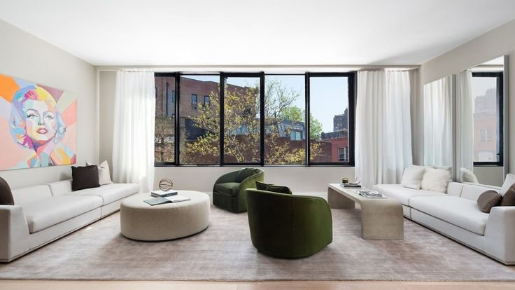 Model Unit Interior from the Upcoming 175 West 10th Street; Nest Seekers International