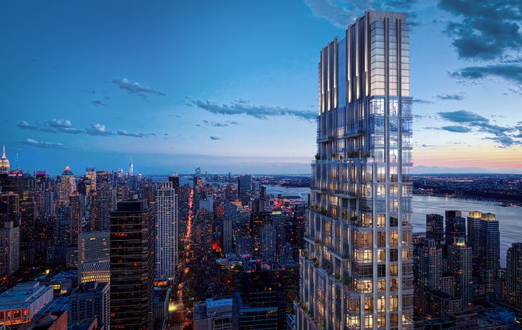 All renderings of 200 Amsterdam Avenue via Binyan Studios