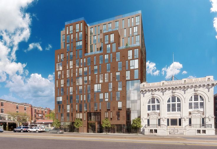 Rendering of 225 Fourth Avenue in Park Slope via Greystone Development