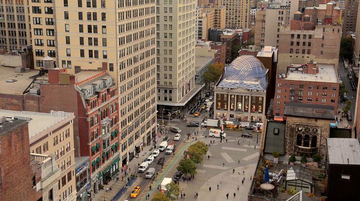 Aerial view of future 44 Union Square; Credit: Neoscape/ BKSK