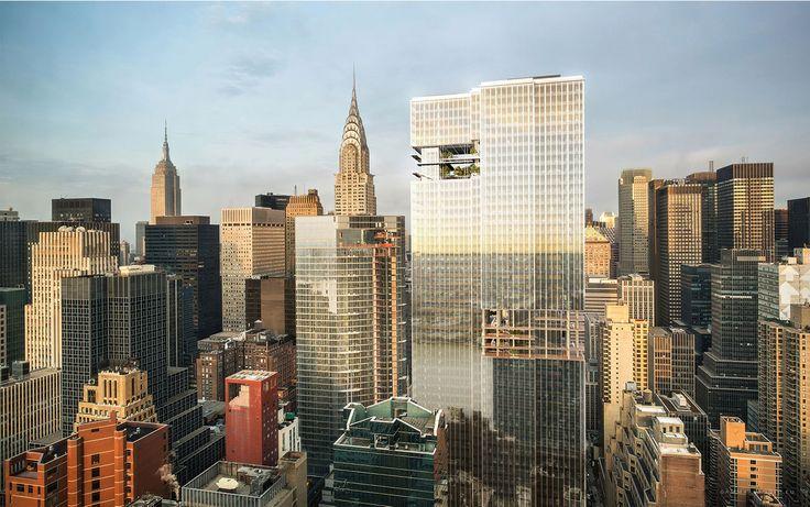 All renderings of 279 East 44th Street via Jakub Sobiczewski