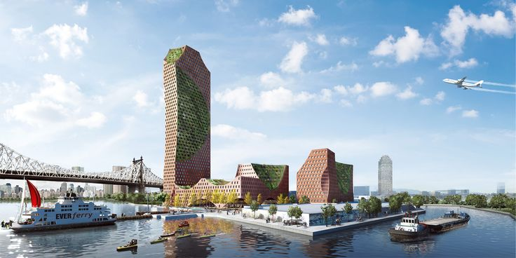 All renderings of Long Island City Oyster via CAZA