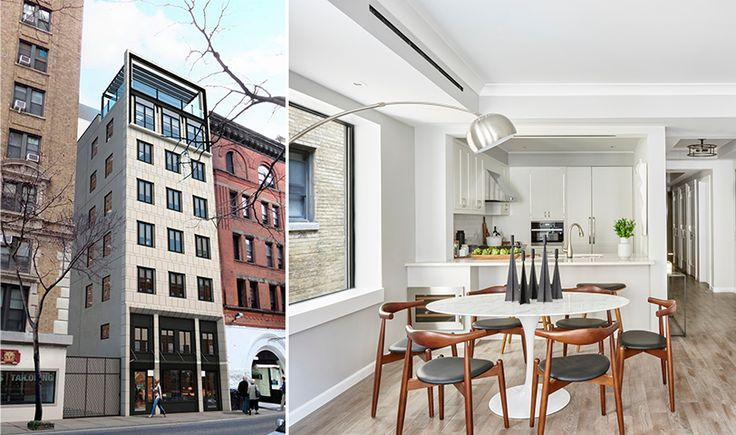 207 West 75th Street (renderings and model photos courtesy of Opal Holdings and Jeffrey Cole Architects)