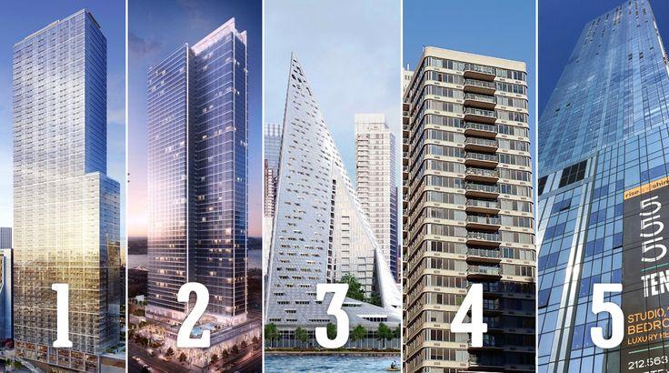 Top Five Rentals in Midtown West