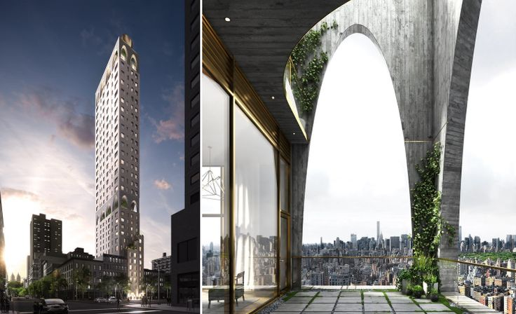 180 East 88th Street; Rendering created by MARCH, courtesy of DDG