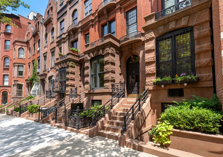 Though Manhattan gets much attention for its skyscrapers, it's teeming with sedate blocks lined with charming brownstones and townhouses  (Halstead)