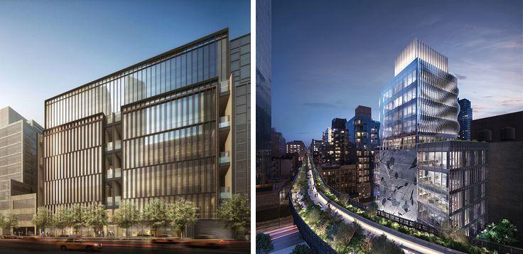 Soori High Line (l; Compass) and 515 High Line (r; Neoscape)