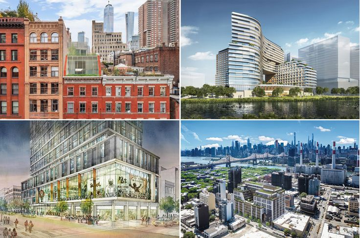 Various new developments proposed for NYC