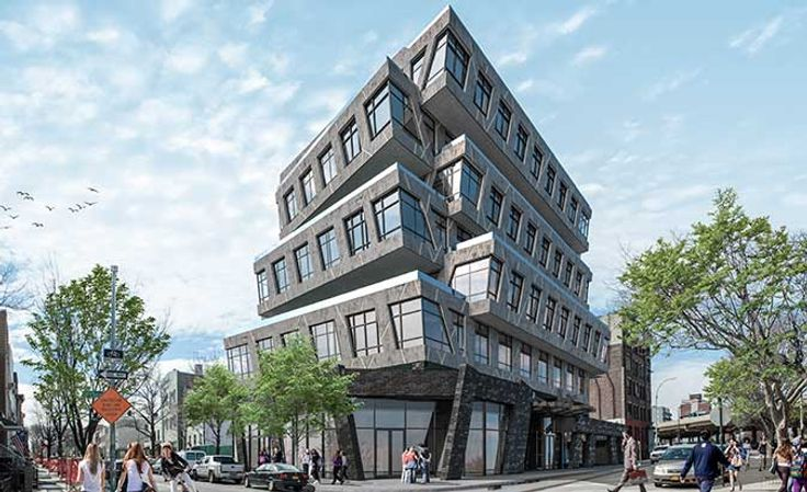Rendering of 88 Withers Street; RYBAK & BK Developers