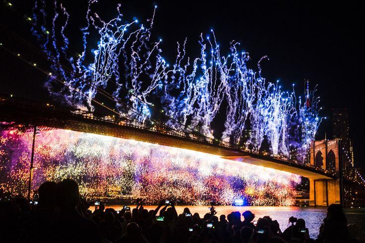 4th of July fireworks in 2014. Credit: Dan Nguyen on flickr