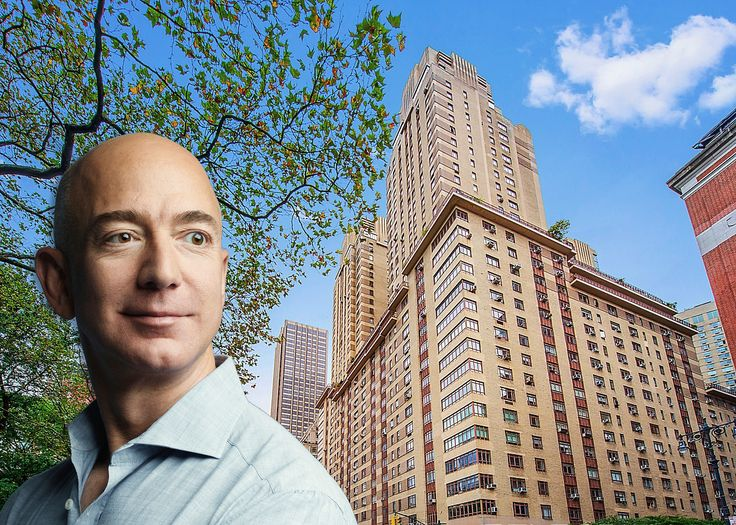 Jeff Bezos photograph by Photograph by Wesley Mann, exterior photo of the Centruy via Elegan Real Estate