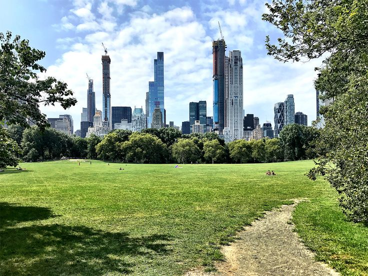 111 West 57th Street (second tower from left), as seen from Central Park, via CityRealty