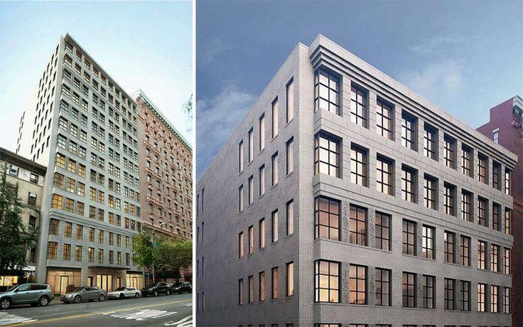 Morris Adjmi designed the 13-story light brick building.