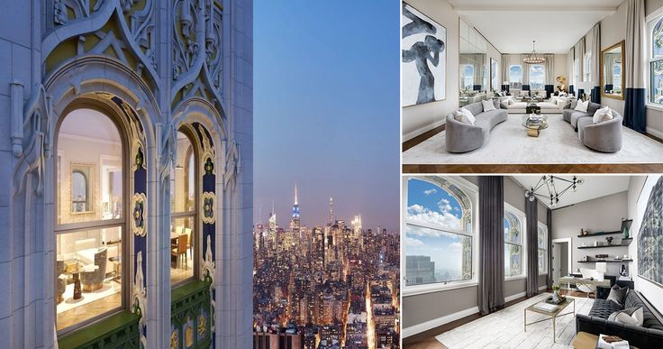 Woolworth Tower Residences at 2 Park Place via Sotheby's International Realty