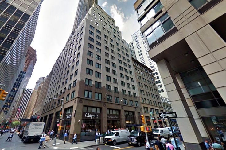 100 Maiden Lane in the Financial District (Image via Google Street View)