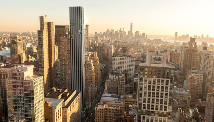277 Fifth Avenue will temporarily become the tallest building in NoMad and offer all-encompassing views of the city (Victor Group)