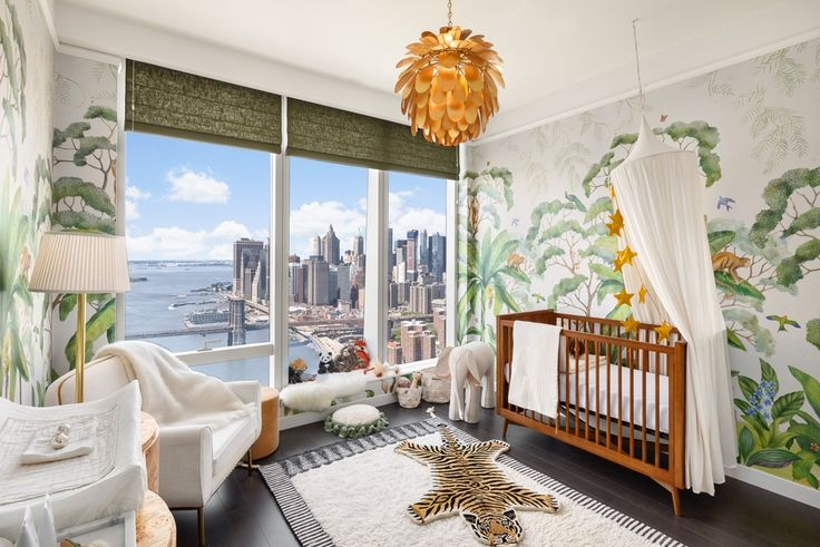 The luckiest nursey in the world at One Manhattan Square (Extell Development Company)