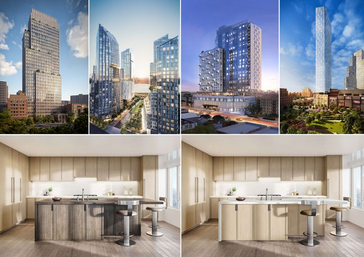 Each of these new rental and condo developments have units that offer varying finishes for buyers to choose from