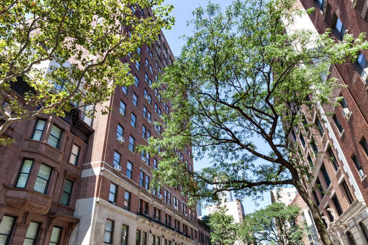 Parc Coliseum at 228 West 71st Street is a prewar rental building that sits on a tree-lined block on the Upper West Side. (Image via Equity Residential)