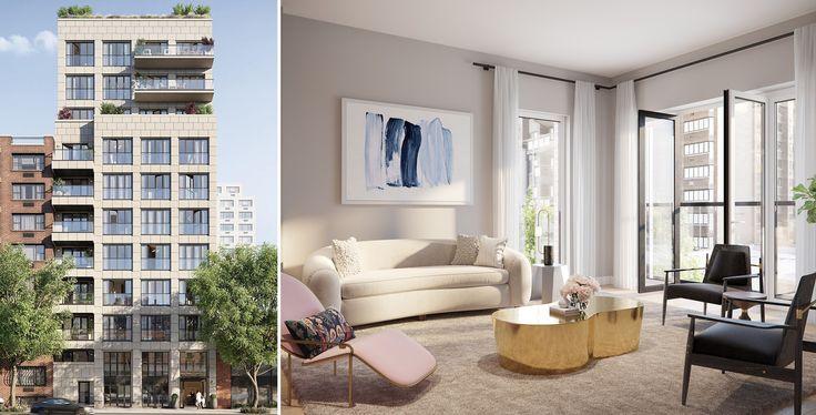 All renderings of 427 East 90th Street via Halstead