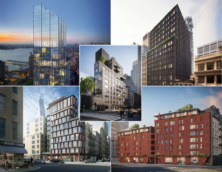 45 Park Place, 91 Leonard, 108 Chambers, and 100 Franklin, and 30 Warren