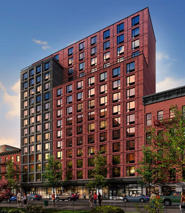 Rendering of The Frederick via Aufgang Architects