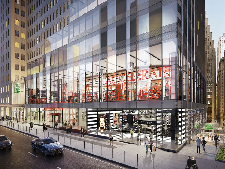 Proposed retail base of One Wall Street