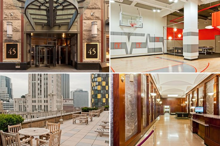 45 Wall Street in Manhattan's Financial District (Images via TF Cornerstone)