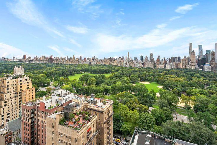 Central Park views via Corcoran