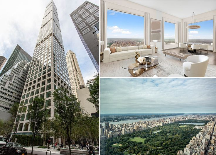 This 80th floor 3-bedroom at 432 Park Avenue was one of the biggest sales recorded last week (Images via Compass)