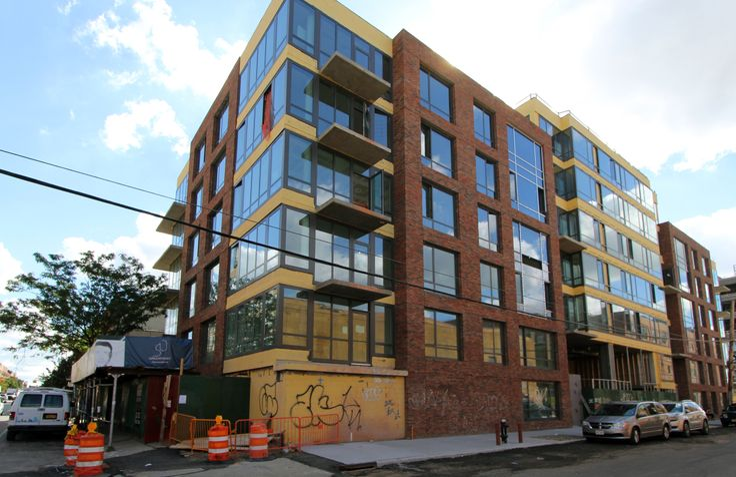 Construction progress of 50 Greenpoint Avenue
