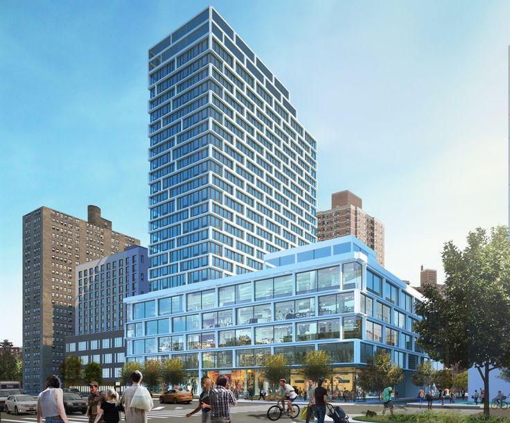 Rendering of 180 Broome Street via Handel Architects